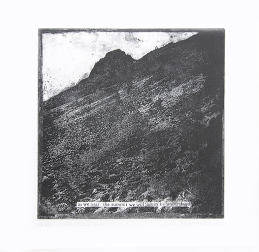 The Summit Etching
